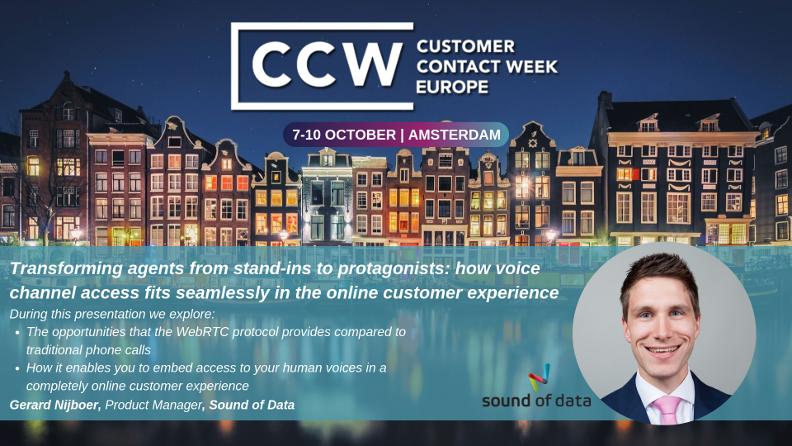 Gerard Nijboer Customer Contact Week 2019