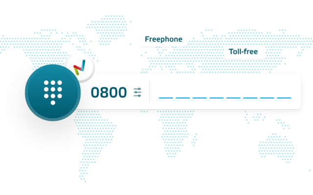 Tollfree freephone customer service numbers