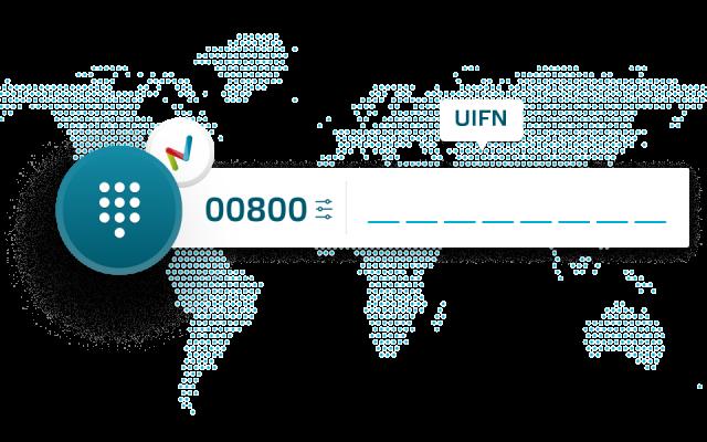 UIFN Universal International Freephone Numbers