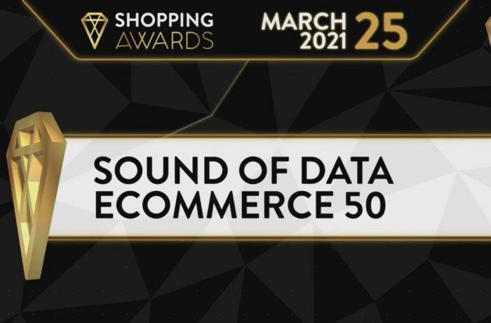 Shopping Awards Sound of Data Ecommerce50 2021