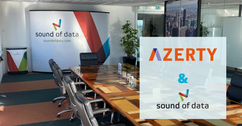 Azerty kiest voor Sound of Data
