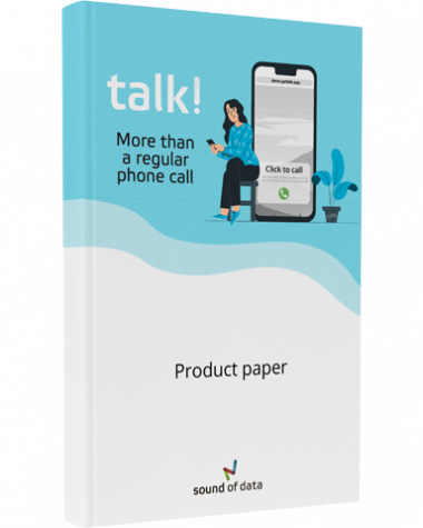 Talk Product Paper